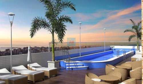 Apartamento, código 741 em Praia Grande, bairro Caiçara