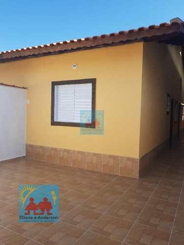 Casa, código 825 em Mongaguá, bairro Balneário Itaóca