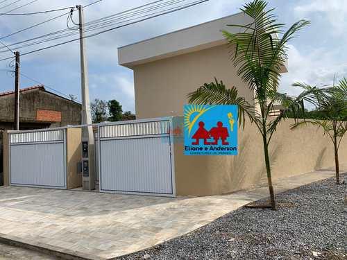 Casa, código 1095 em Itanhaém, bairro Jardim Savoy