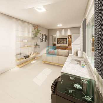 Casa em Itanhaém, bairro Jardim Savoy