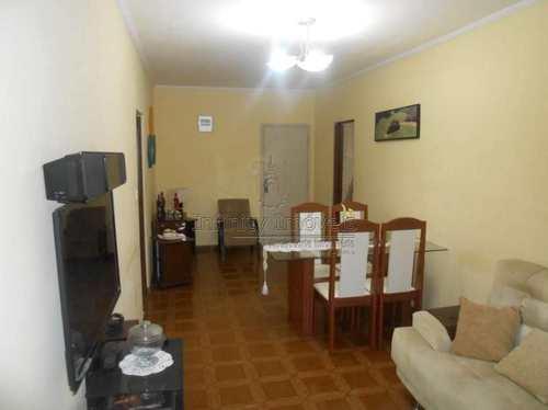 Apartamento, código 1455 em Santos, bairro Marapé