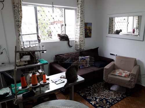 Apartamento, código 1462 em Santos, bairro Embaré