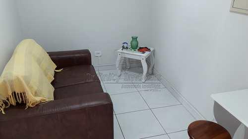 Sala Living, código 1493 em Santos, bairro Boqueirão