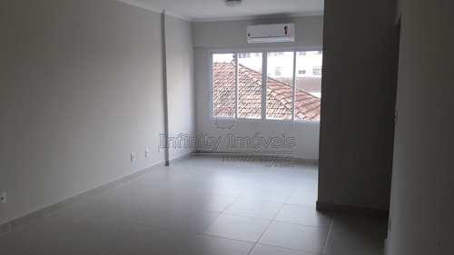 Apartamento, código 1498 em Santos, bairro Marapé