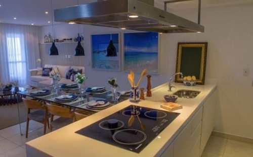Apartamento, código 4477 em Praia Grande, bairro Boqueirão