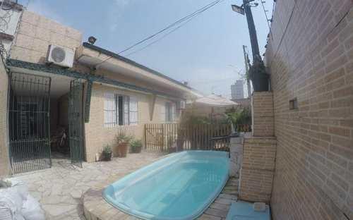 Casa, código 4380 em Praia Grande, bairro Guilhermina