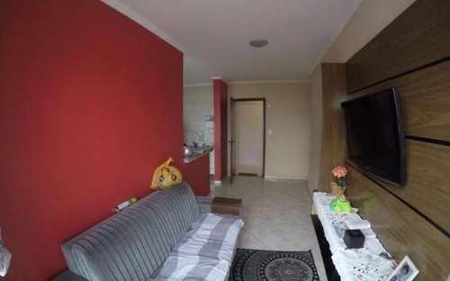 Apartamento, código 3081 em Praia Grande, bairro Guilhermina