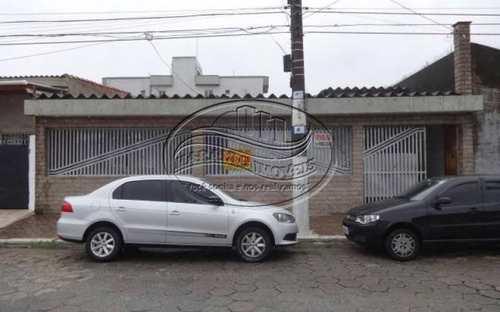 Casa, código 4679 em Praia Grande, bairro Guilhermina