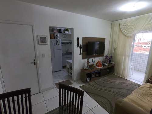Apartamento, código 4877 em Praia Grande, bairro Guilhermina