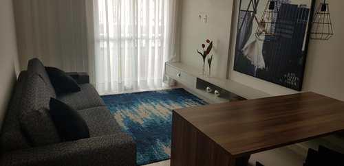 Apartamento, código 5167 em Praia Grande, bairro Guilhermina