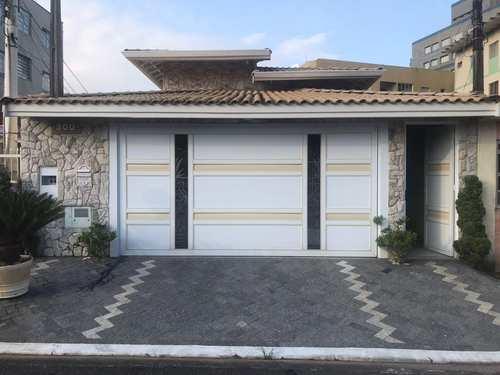 Casa, código 5190 em Praia Grande, bairro Caiçara