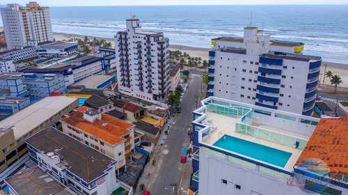 Apartamento, código 5254 em Praia Grande, bairro Mirim