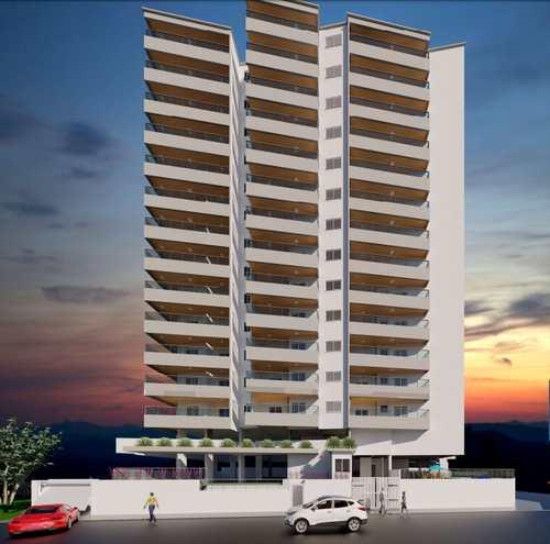 Apartamento, código 5275 em Praia Grande, bairro Guilhermina