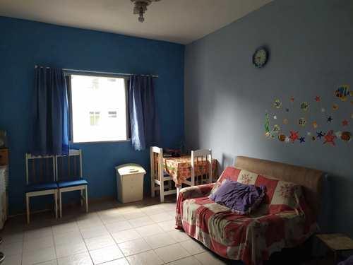 Kitnet, código 5384 em Praia Grande, bairro Canto do Forte