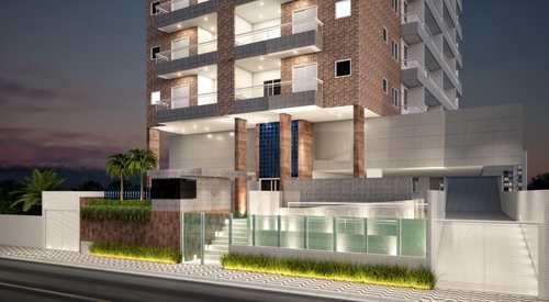 Apartamento, código 5443 em Praia Grande, bairro Guilhermina