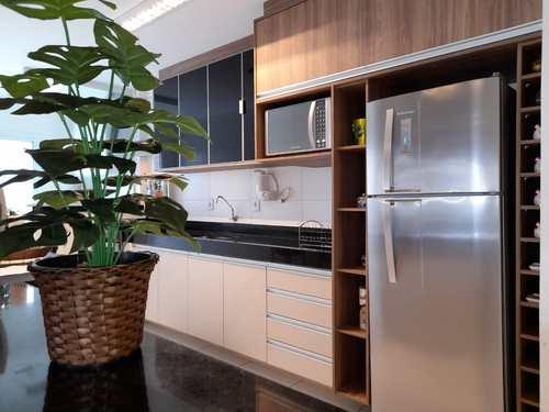 Apartamento, código 5955 em Praia Grande, bairro Guilhermina