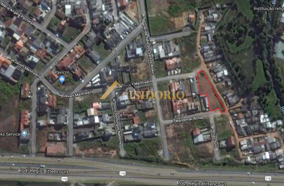 Terreno em Curitiba, no bairro Atuba