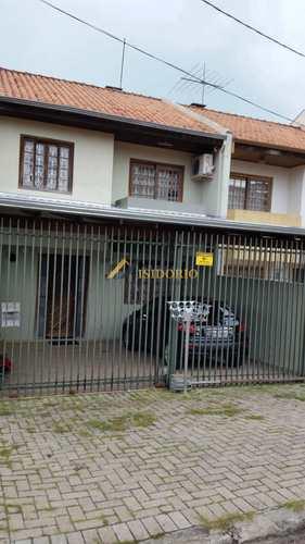 Sobrado, código 9793 em Curitiba, bairro Portão