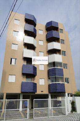 Apartamento, código 618300 em Mongaguá, bairro Balneário Itaóca