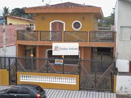 Sobrado, código 2807 em Mongaguá, bairro Balneário Santa Eugênia