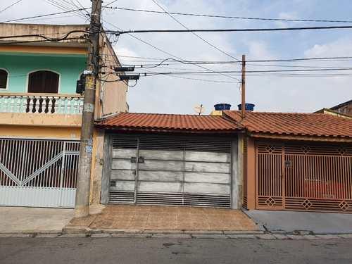 Casa, código 11461 em Mauá, bairro Jardim Sílvia Maria