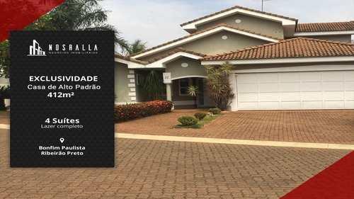 Casa de Condomínio, código 479600 em Ribeirão Preto, bairro Bonfim Paulista