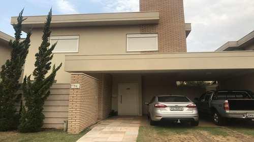Sobrado de Condomínio, código 474900 em Ribeirão Preto, bairro Condomínio Guaporé