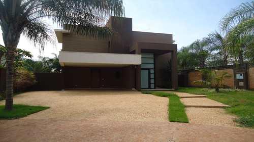 Casa de Condomínio, código 445200 em Ribeirão Preto, bairro Vila do Golf