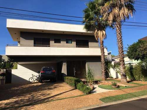Casa de Condomínio, código 1721995 em Ribeirão Preto, bairro Recreio das Acácias