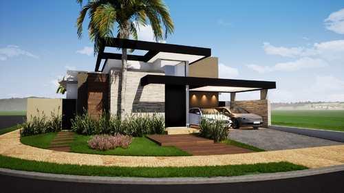 Casa de Condomínio, código 1722633 em Ribeirão Preto, bairro Vila do Golf