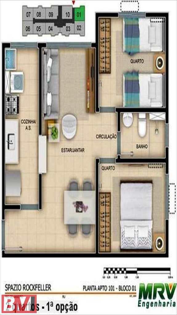 Apartamento em Rio de Janeiro, bairro Colégio