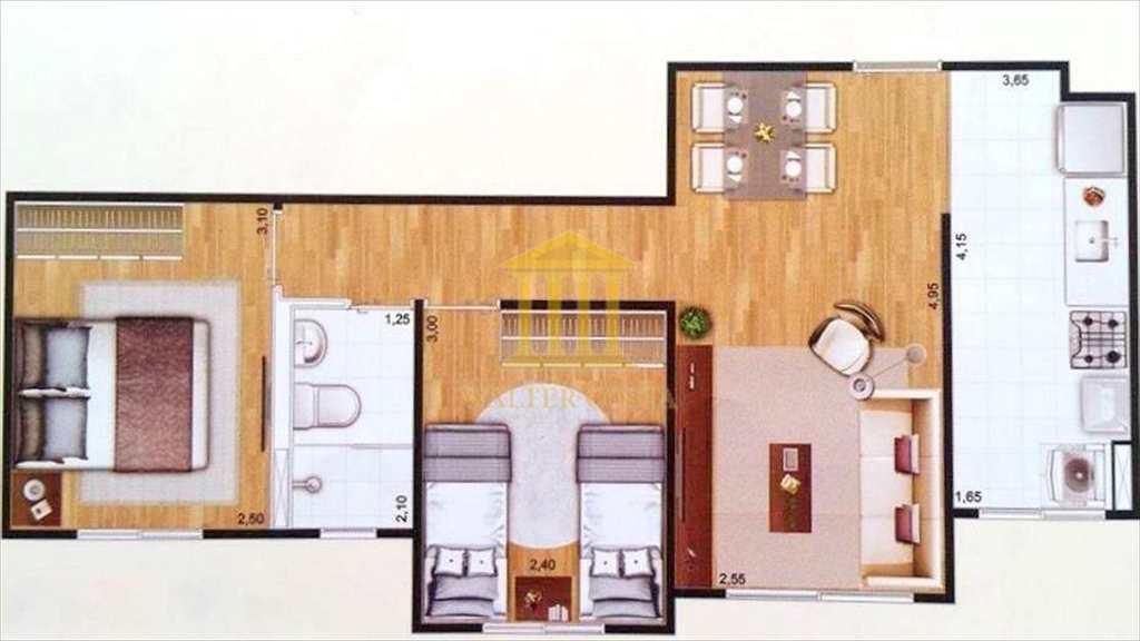 Apartamento em Sumaré, no bairro Parque Yolanda (Nova Veneza)