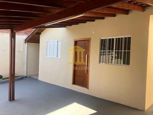 Casa, código 283 em Paulínia, bairro Vila Monte Alegre