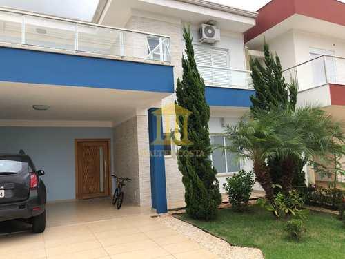 Sobrado de Condomínio, código 325 em Paulínia, bairro Parque Bom Retiro