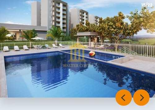 Apartamento, código 348 em Paulínia, bairro Parque da Represa