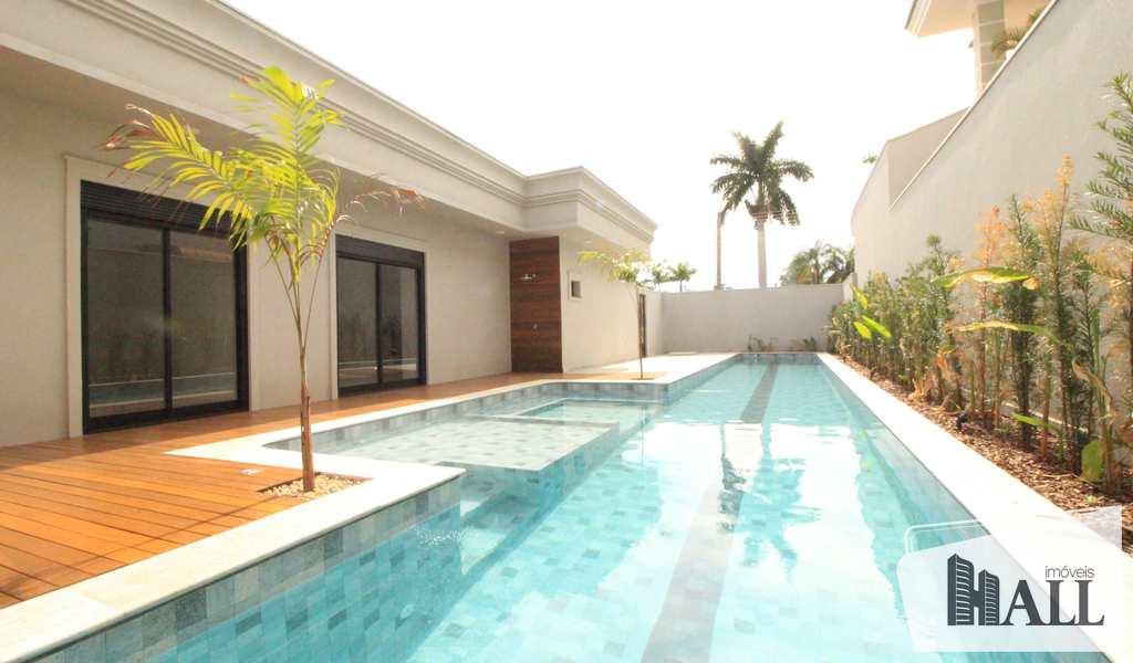 Casa de Condomínio em São José do Rio Preto, bairro Parque Residencial Damha