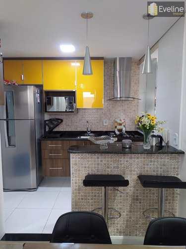 Apartamento, código 1515 em Mogi das Cruzes, bairro Jardim Nathalie