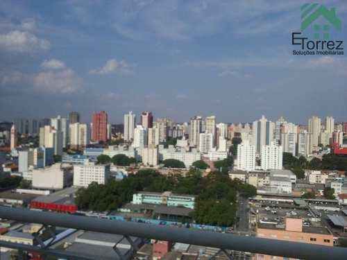 Apartamento, código 330ADO em São Bernardo do Campo, bairro Vila Gonçalves