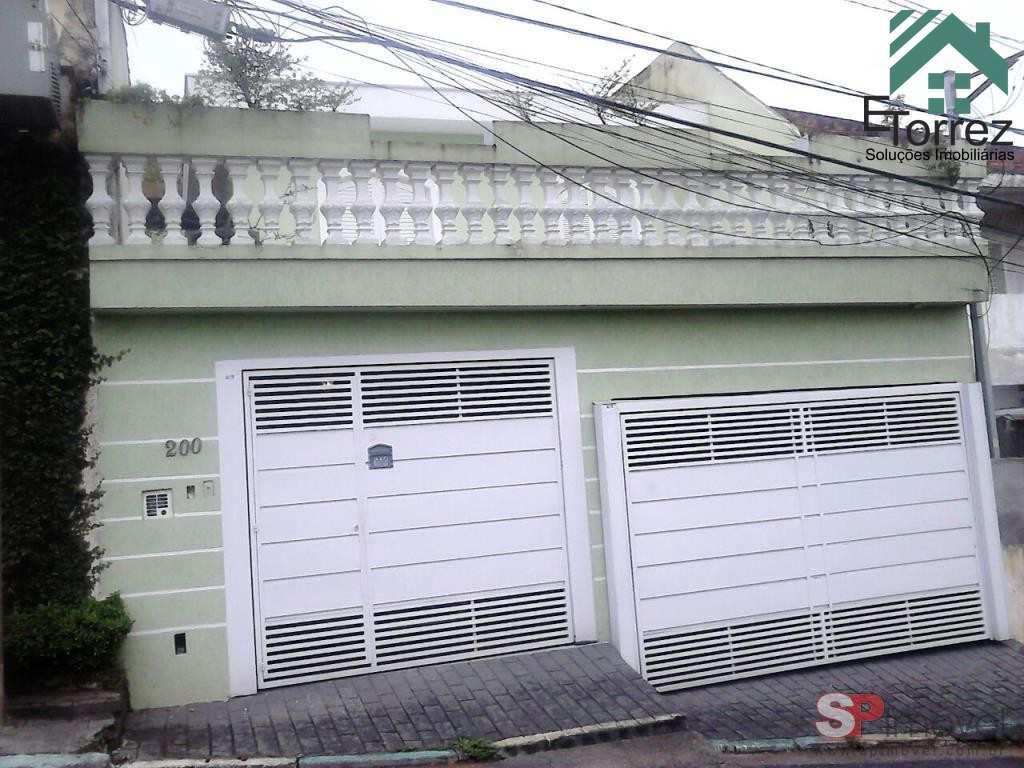 Sobrado em São Paulo, no bairro Vila Santa Maria
