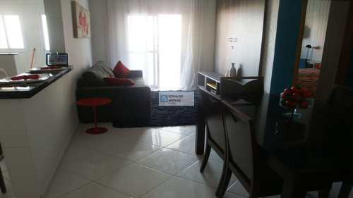 Apartamento, código 581 em Praia Grande, bairro Tupi