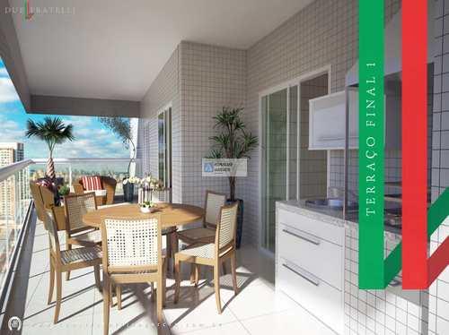 Apartamento, código 2156 em Praia Grande, bairro Guilhermina
