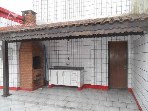 Cobertura, código 119 em Praia Grande, bairro Guilhermina
