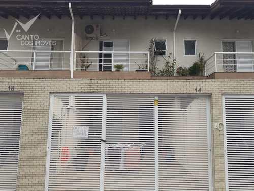 Sobrado, código 208 em Praia Grande, bairro Canto do Forte