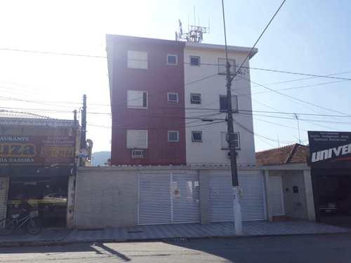 Apartamento, código 302 em São Vicente, bairro Jardim Independência