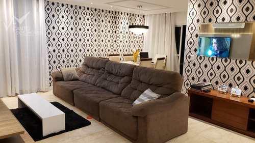 Apartamento, código 342 em Praia Grande, bairro Guilhermina