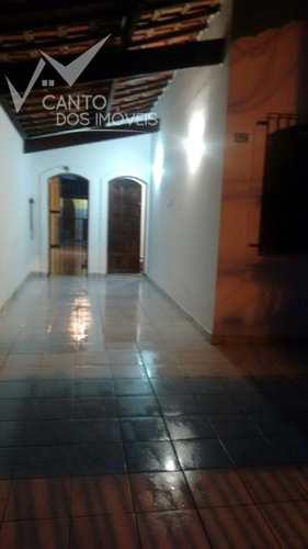 Casa, código 345 em Praia Grande, bairro Guilhermina