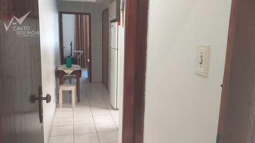 Kitnet, código 585 em Praia Grande, bairro Canto do Forte