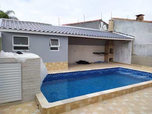 Casa, código 19 em Itanhaém, bairro Jardim Grandesp