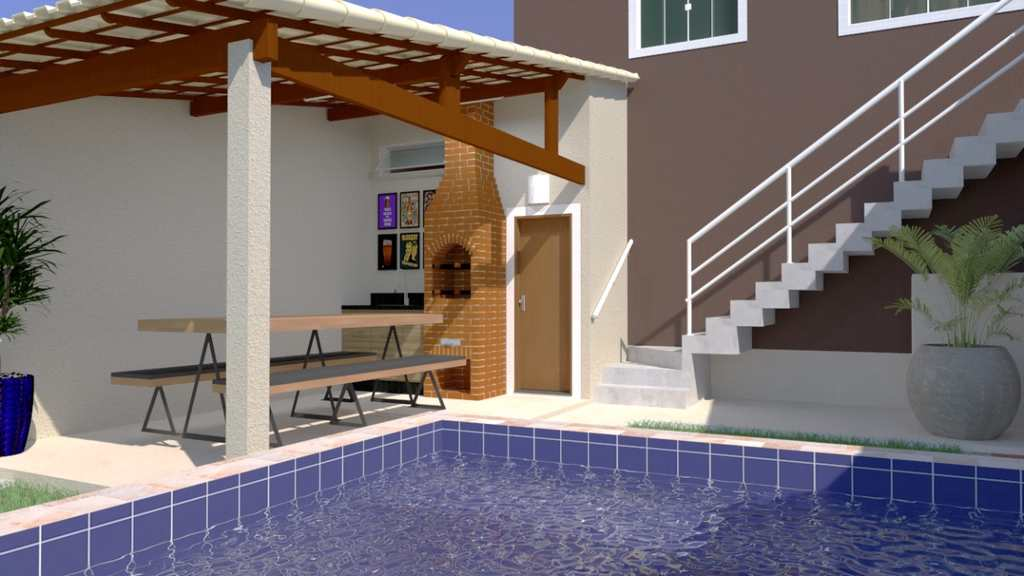 Casa em Itanhaém, no bairro Campos Elíseos