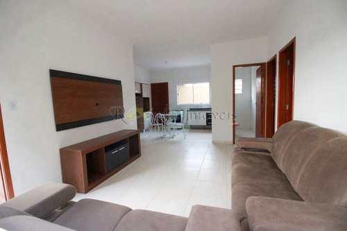 Casa, código 72 em Itanhaém, bairro Jardim das Palmeiras